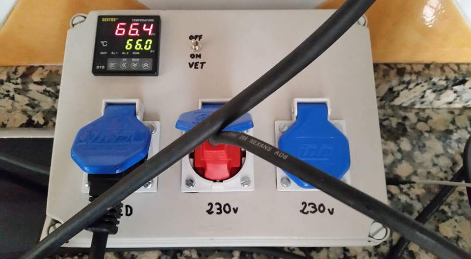 Termostato Controlador de Refrigeraci/ón y Calefacci/ón para Acuario Hogar y Laboratorio Elaboraci/ón de la cerveza Inkbird PID Digital Controlador de Temperatura 2 Rel/és Omron ITC-100RH 220V