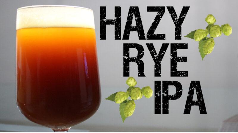 Receta de cerveza del estilo hazy rye IPA