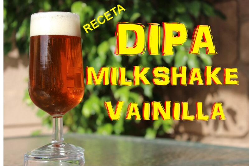 milkshake DIPA receta y elaboración